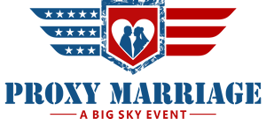 Our logo that signafies our commitment to providing Double Proxy Marriages to active Military Armed Forces.